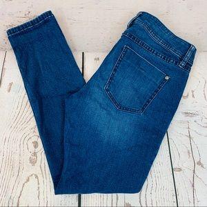 ELLE dark denim jeans size 8 skinny